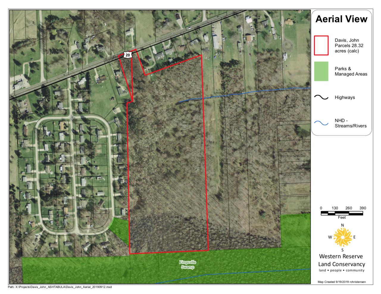 Kingsville Swamp extension