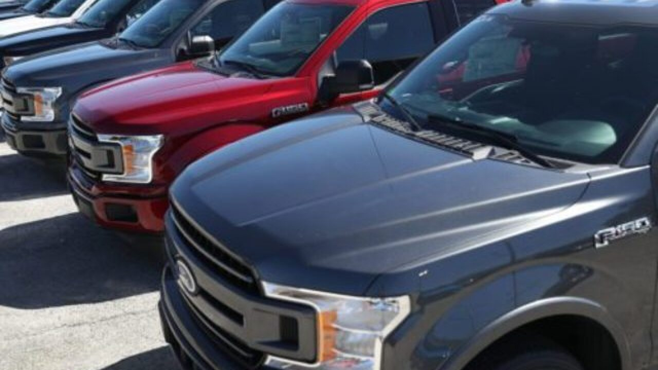 Ford recalling approximately 2 million F-150s due to potential fire risk