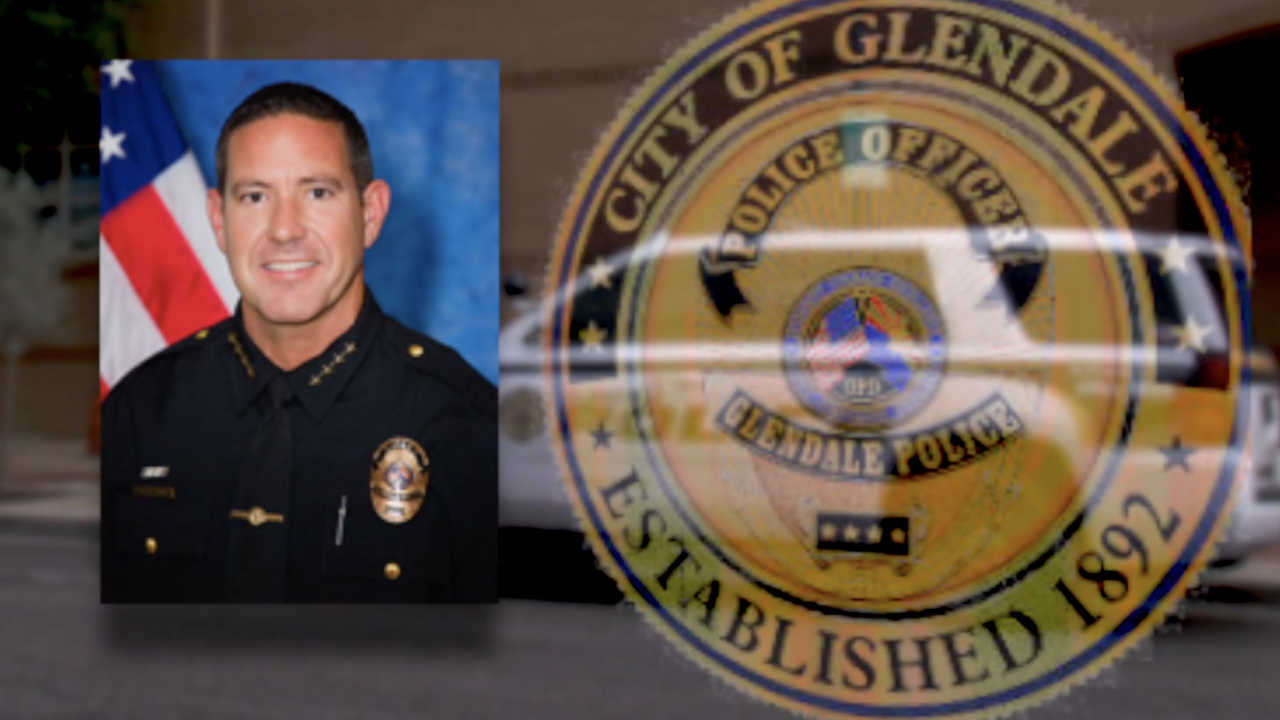 Glendale Police Chief Rick St. John