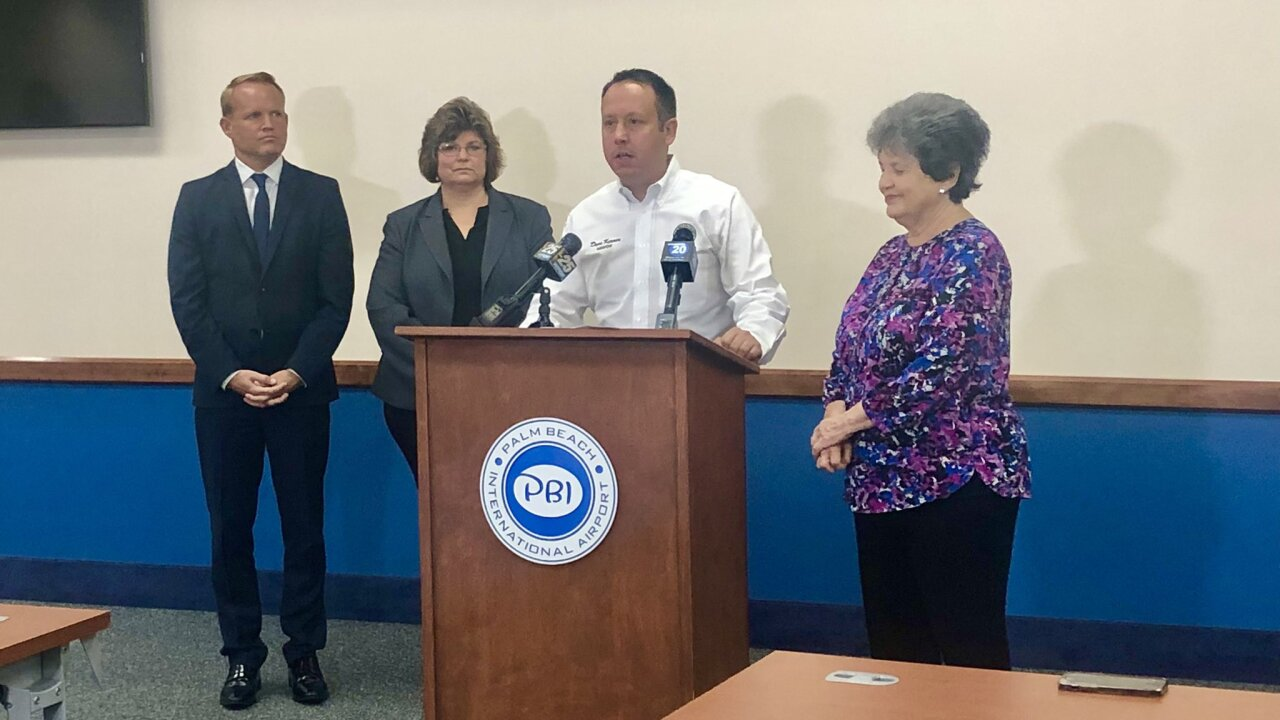 Palm Beach International Airport will receive another round of funding from the federal government to help bounce back from the slump caused by the pandemic.