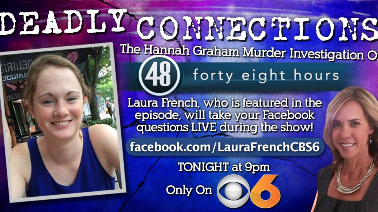 Reporter Laura French hosts Q&A during '48 Hours' Hannah Graham special on CBS 6