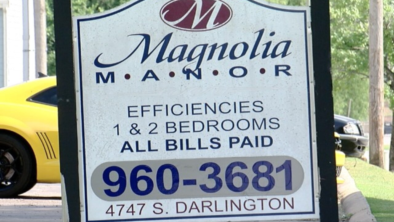 Tenants at Magnolia Manor claim HVAC system out