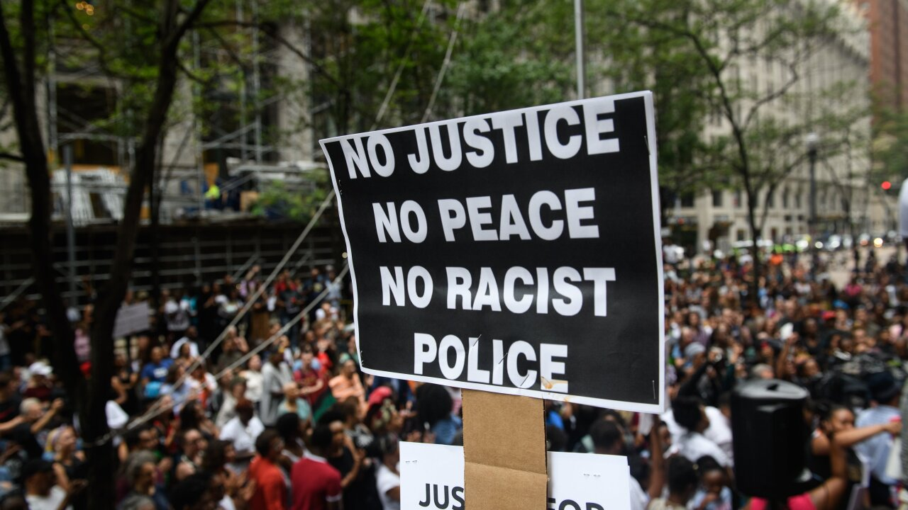 Car drives through crowd protesting police killing of Antwon Rose in Pittsburg
