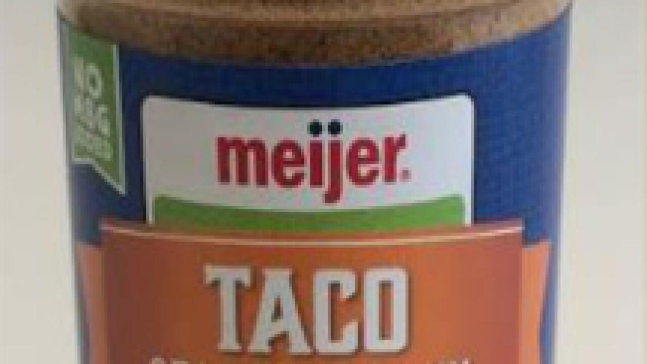 Recall - McCormick & Co. - Meijer Taco Seasoning