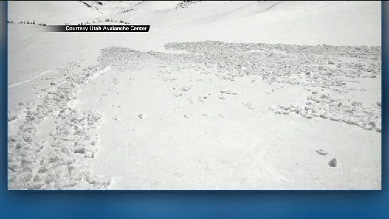 Avalanche conditions in Utah for week of March 29,2015