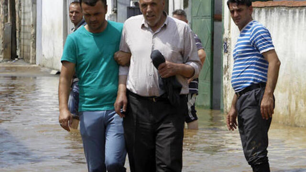Severe floods in Macedonia leave 21 dead, six missing