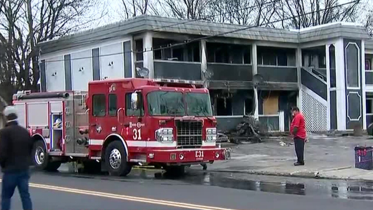 Fire Destroys Madison Apartments, Displaces Residents