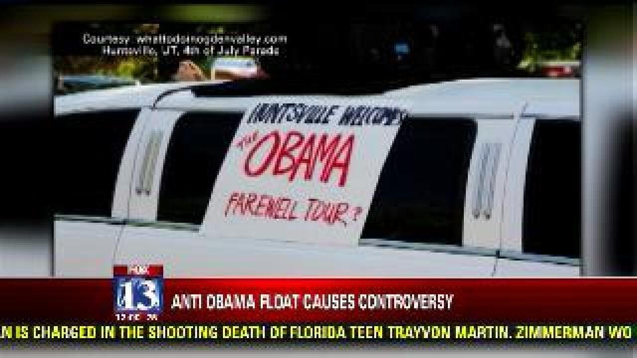 Obama parade parody causes controversy