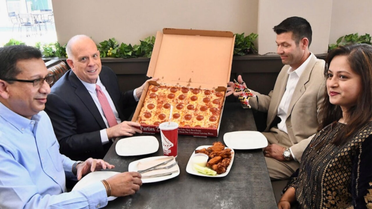 Ledo Pizza giving away free pizza to people with their first COVID-19 vaccine shot in MD.jpg