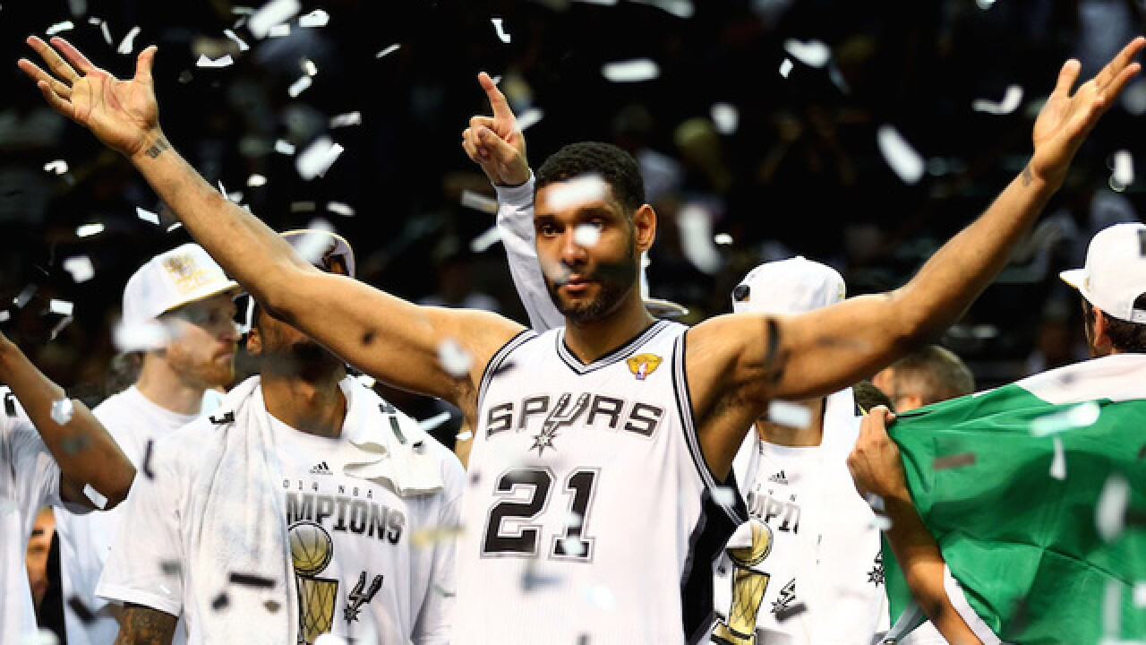 Tim Duncan, 5-time NBA champion, retires after 19 seasons