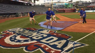 PHOTOS: Opening Day at Kauffman Stadium