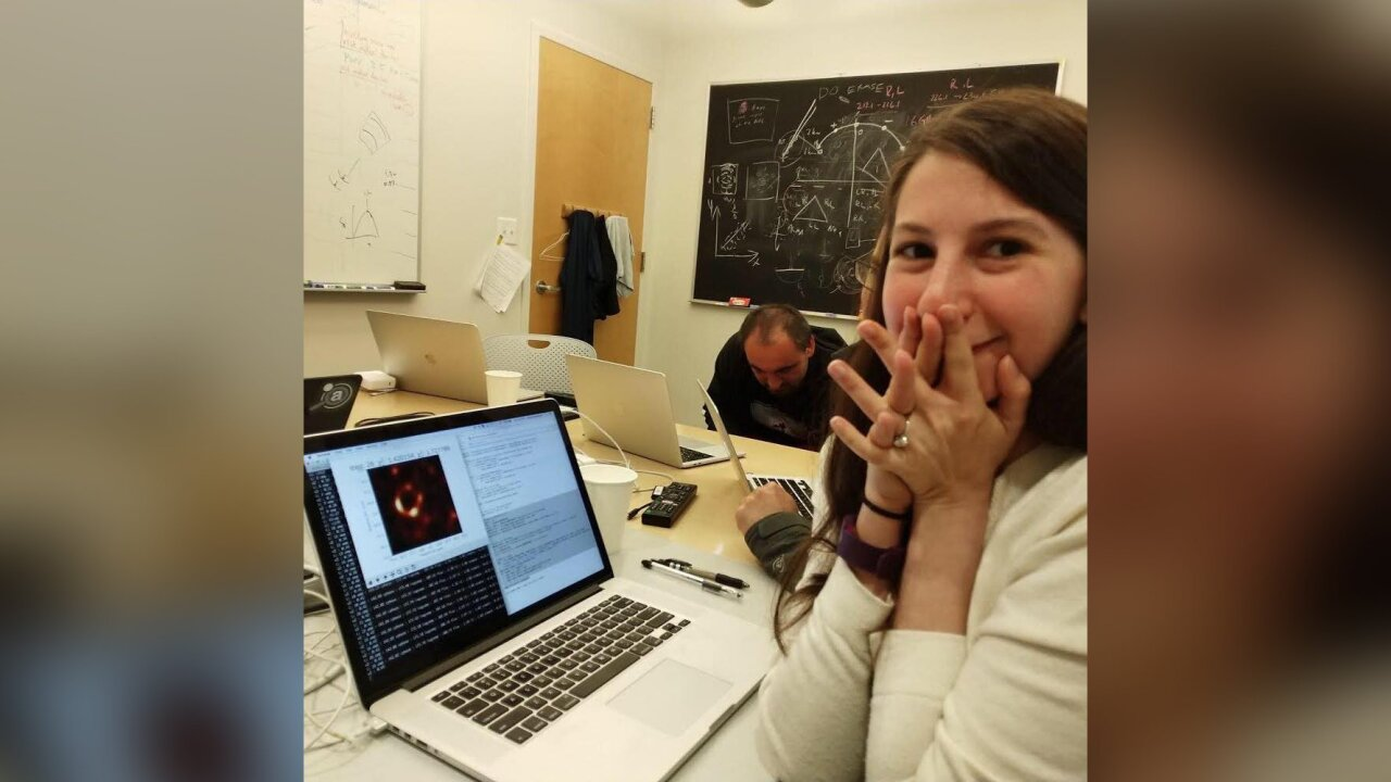 A grad student made the viral black hole photo possible