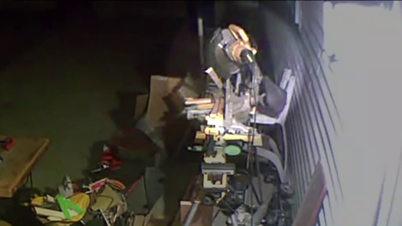 Thieving Grinch strikes Virginia Beach home on Christmas Day, runs off with couple's powersaw