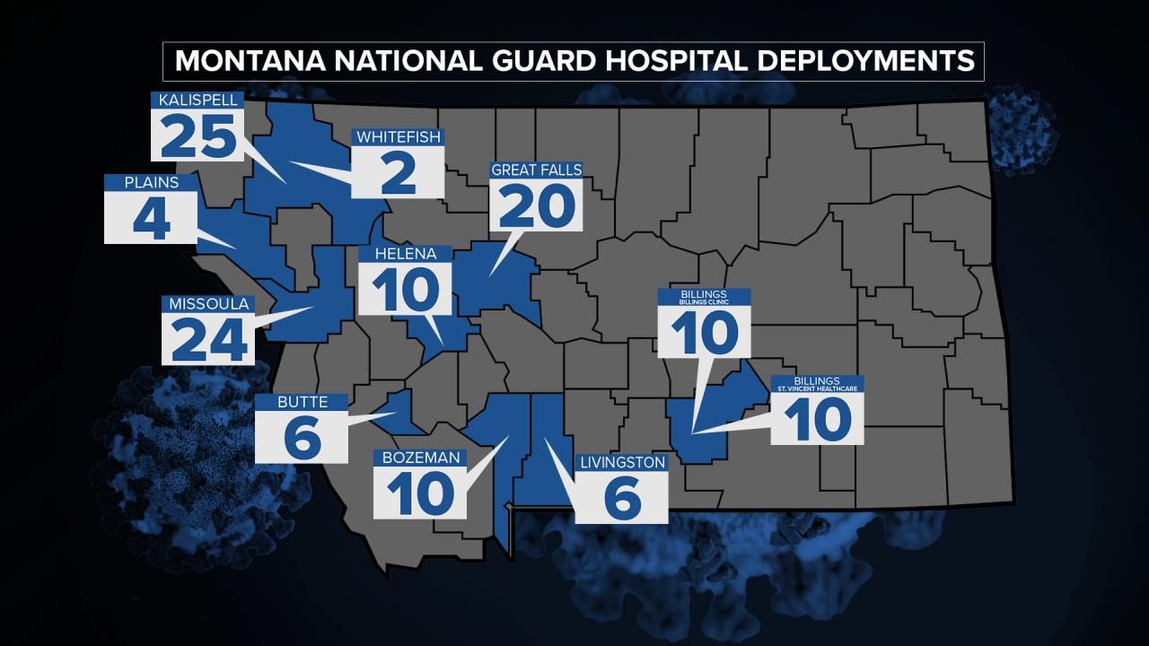 MT National Guard Hospitals