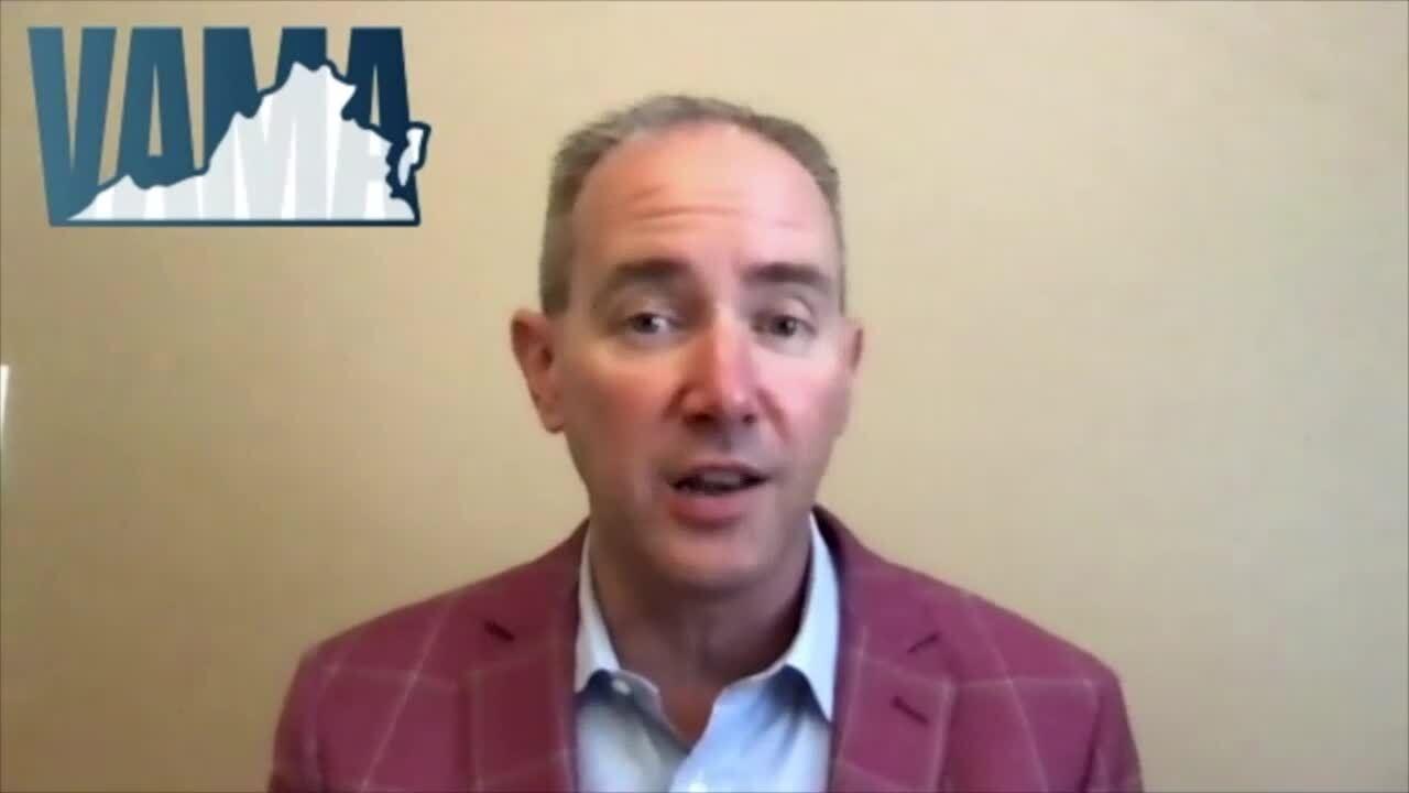 Patrick McCloud, CEO of the Virginia Apartment Management Association