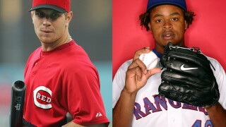 Sports Vault: 'Win-win' Josh Hamilton-Edinson Volquez trade turned to 'lose-lose' after just a year