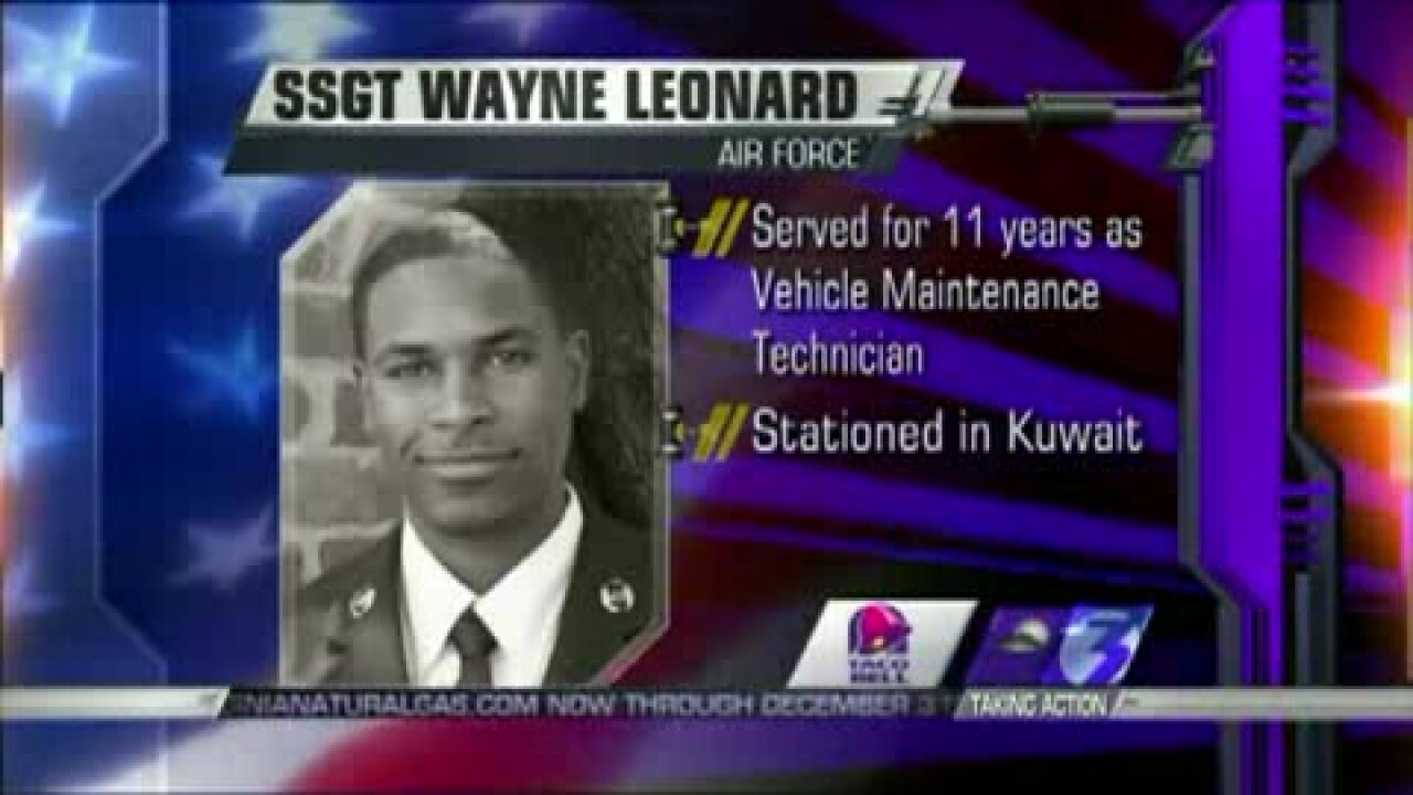 Those Who Serve: SSGT Wayne Leonard