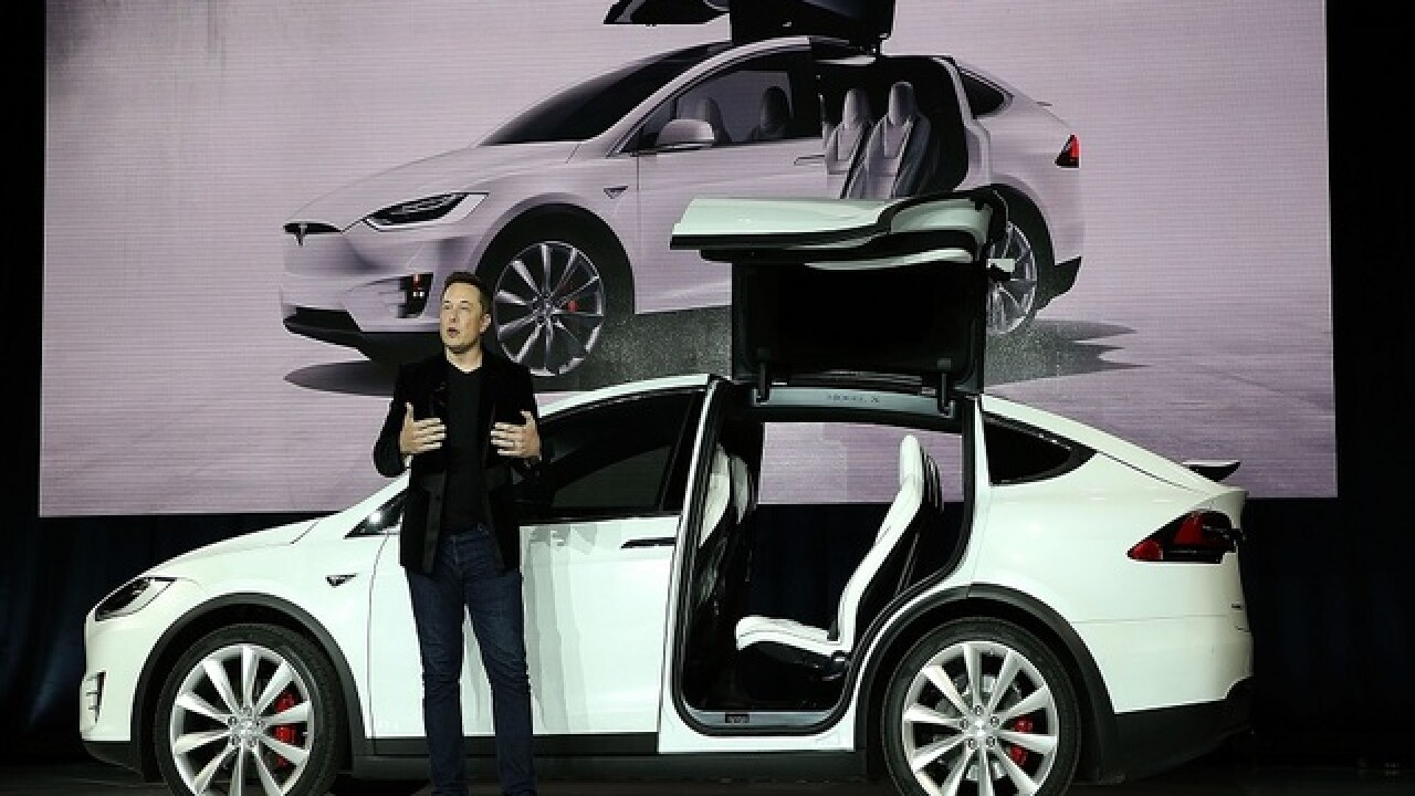 Tesla recalls 2,700 Model X SUVs