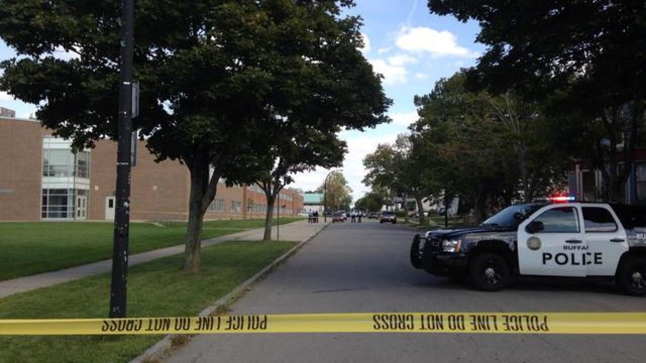 Police identify man shot outside Buffalo School