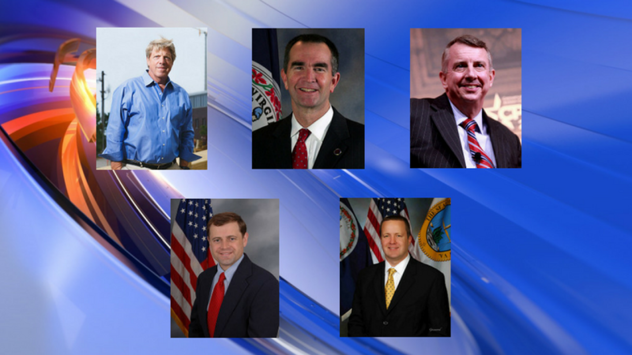 Meet the men running for Virginia governor