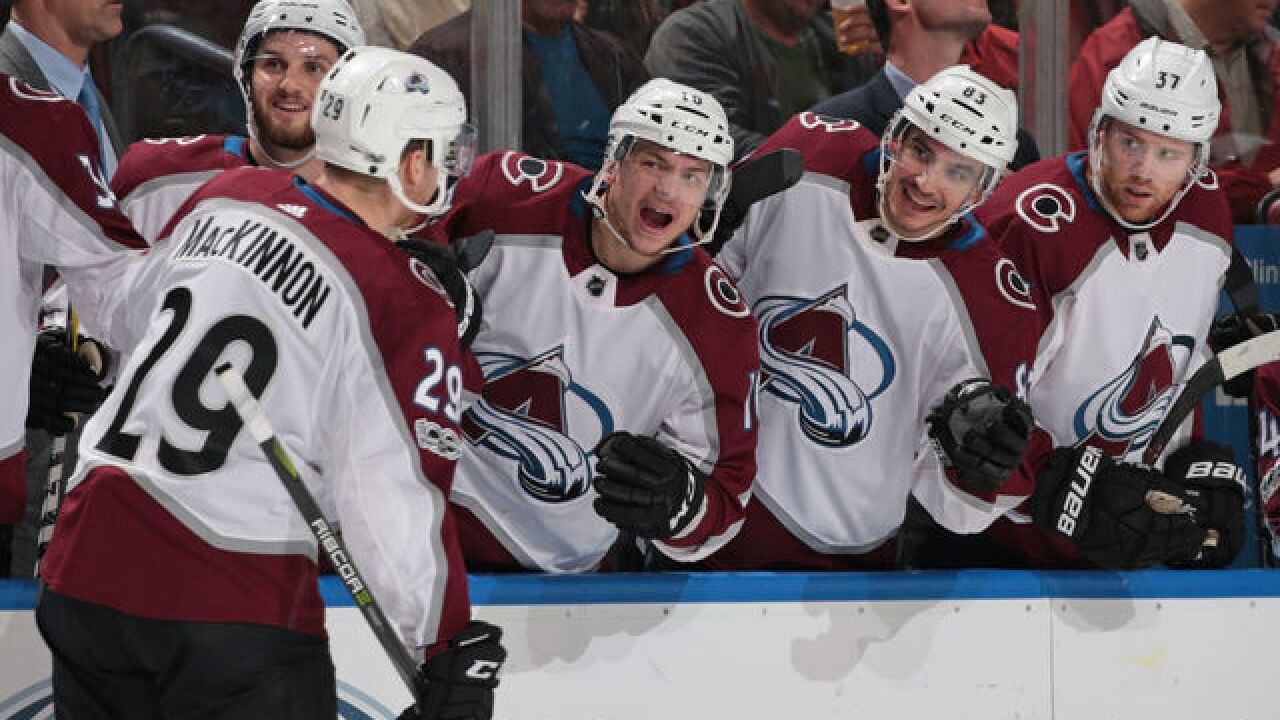 Woody Paige: Young Avalanche, powered by Nate MacKinnon, could ride win streak to playoffs