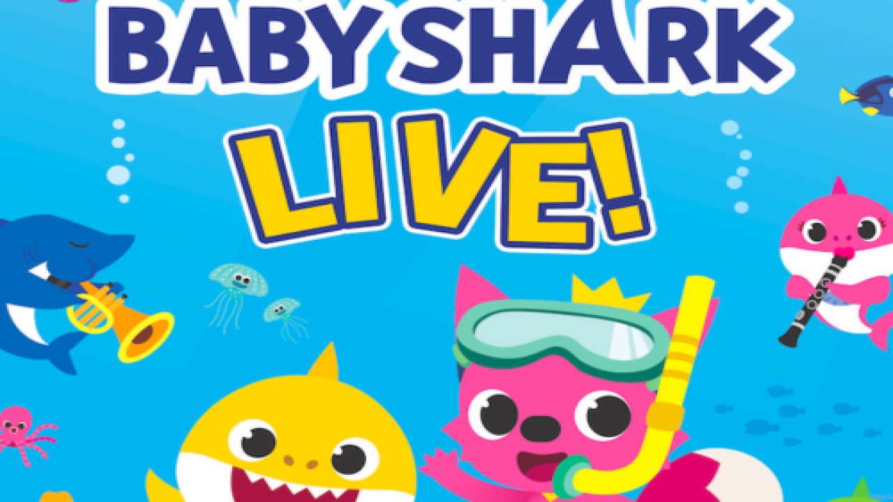 'Baby Shark' Is Going On A Live Tour In North America