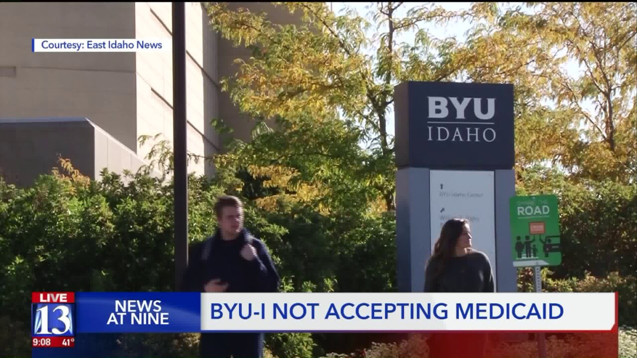 Students withdraw from BYU-Idaho due to university's decision to not acceptMedicaid
