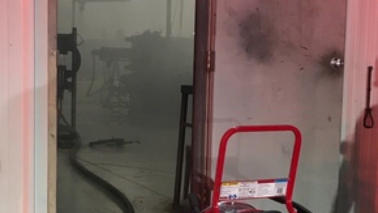 Local fire crews save $2 million in machinery, equipment after rubber molding factory fire