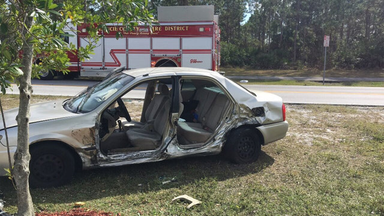 7 injured in Port St. Lucie crash on Sunday
