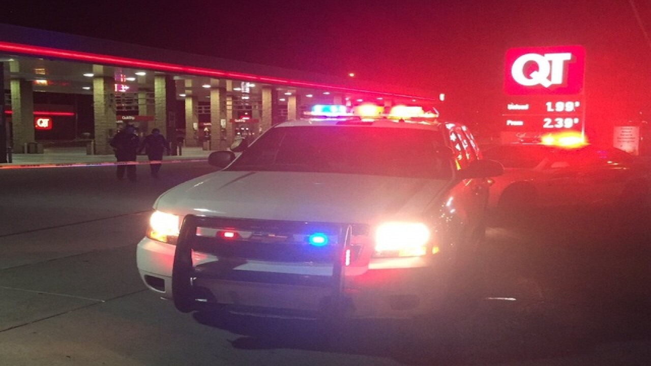 PD: Shooting outside of QT seriously injures 1