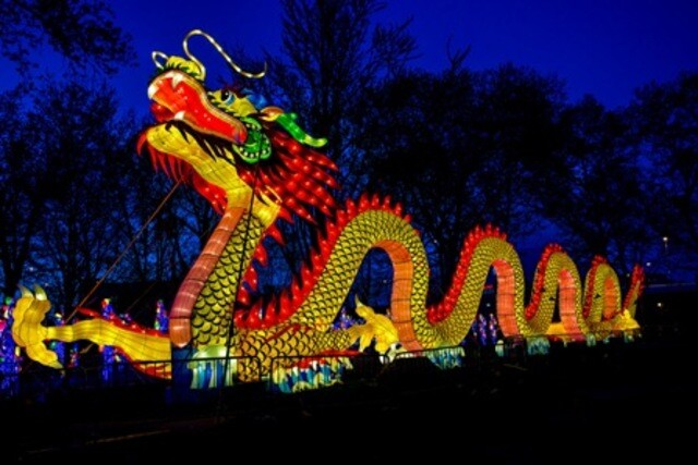 Lantern Festival at the Racine Zoo