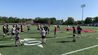 Cedar Springs begins football practices, players remain optimistic