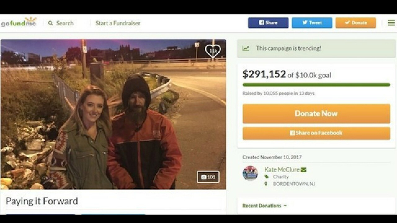 Police search home of couple who raised $400,000 on GoFundMe for homeless man