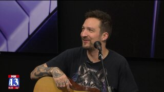 Frank Turner performs on GDU ahead of concert at The Depot