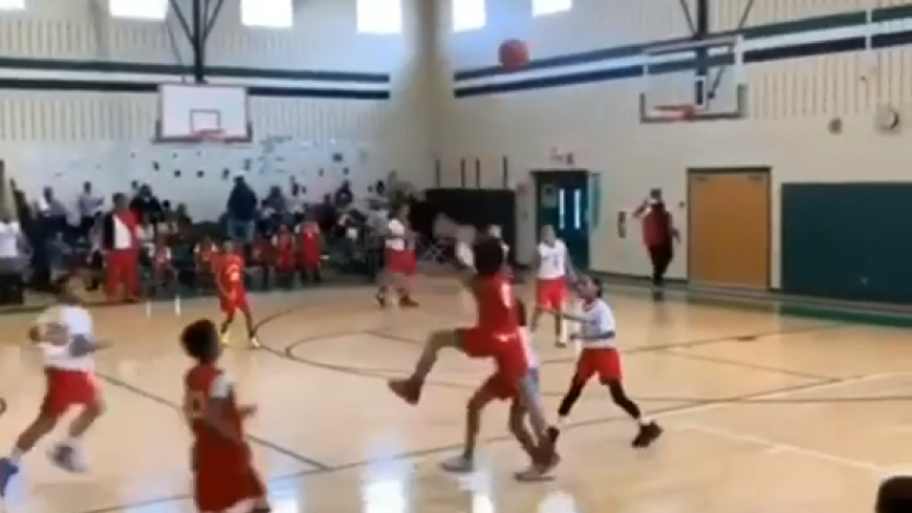 Video shows Henrico boy hit awesome buzzer-beater to win game