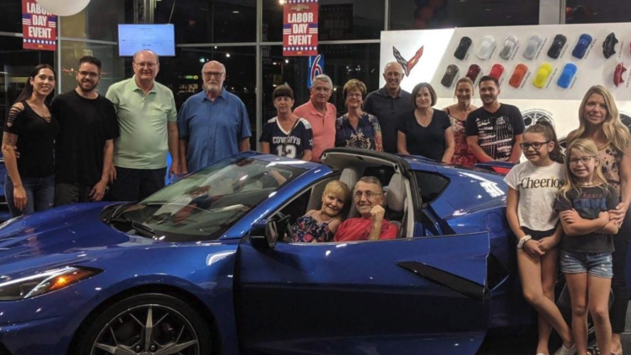 Valley man gets to check out 2020 Corvette