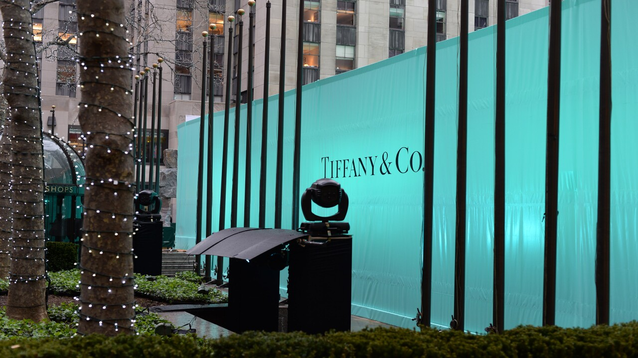 Tiffany & Co. is selling a $112,000 Advent calendar full of diamonds