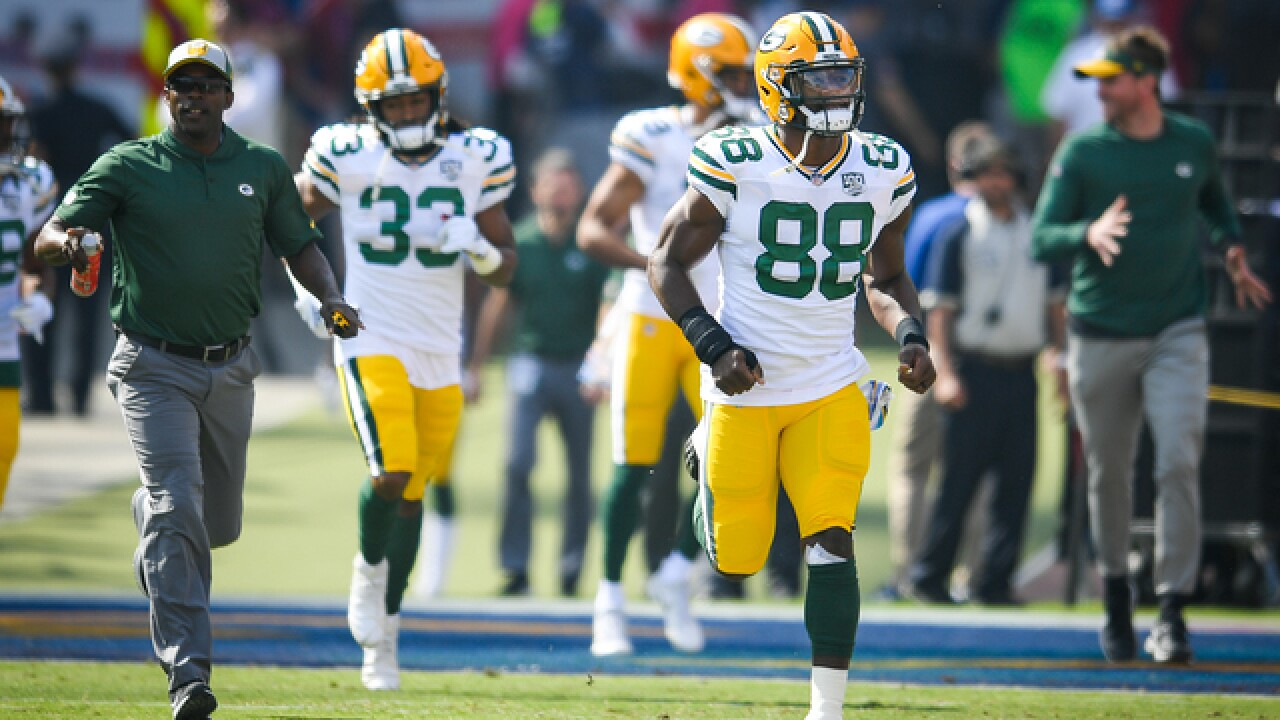 Report: Packers' Ty Montgomery traded to Baltimore
