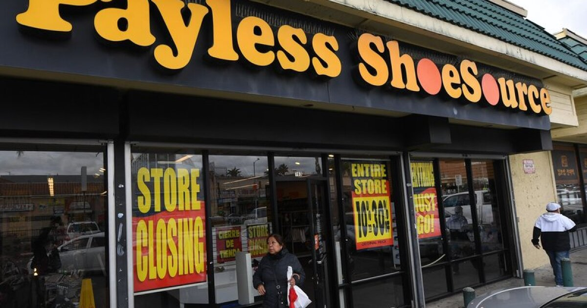 2b638dc206b We check out the Payless Shoe closing sales