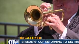 Breeders' Cup returning to Del Mar