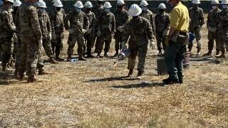 Montana National Guard Fire Training
