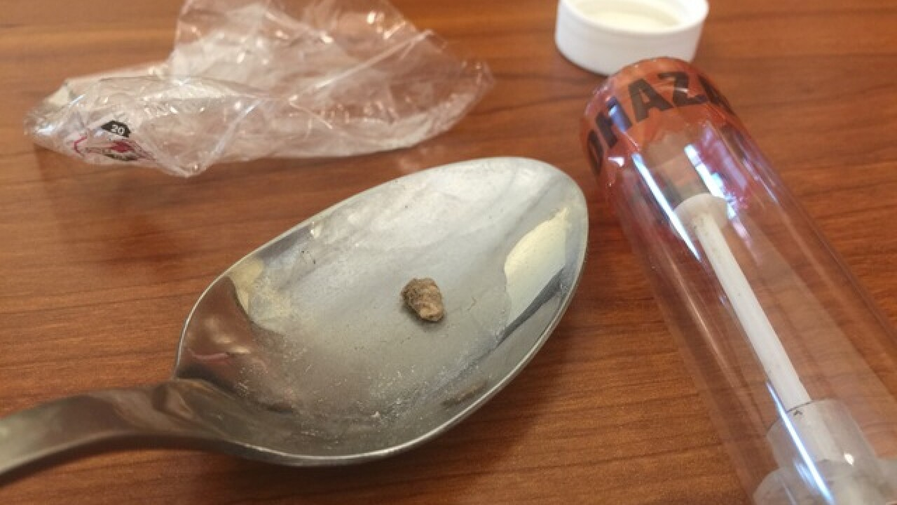 PD reports 10 heroin overdoses in a few hours