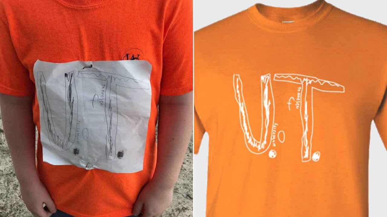 University of Tennessee says it's already sold more than 16K shirts inspired by bullied boy's design