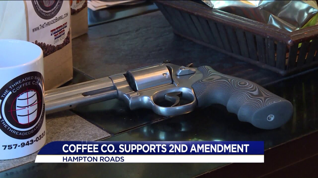 Coffee, guns and veterans: How a Navy lieutenant turned his passions into abrand