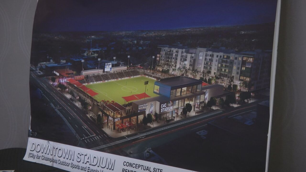 Discussion about potential downtown soccer stadium continues