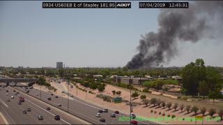 KNXV Mesa Structure Fire 7-4-19