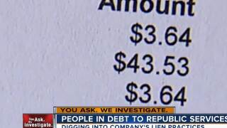 Las Vegas woman owes $5K to Republic Services after being forced to choose between bills