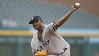 CC_Sabathia_New York Yankees v Detroit Tigers - Game Two