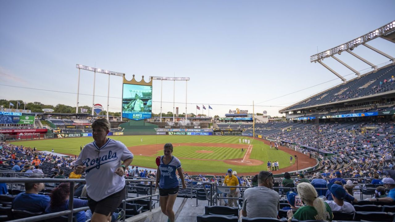 The Kansas City Royals baseball team is reportedly up for sale