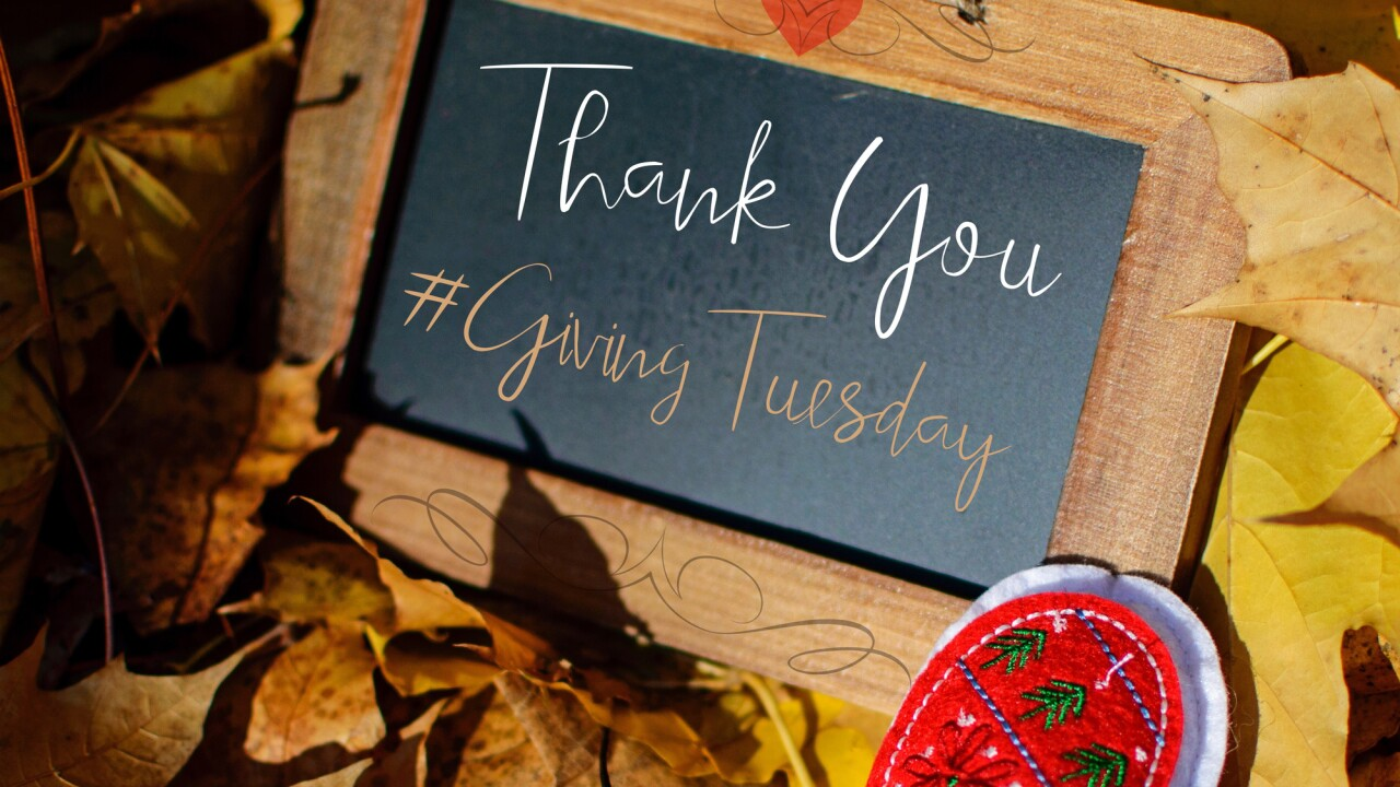 Open your wallet for a worthy cause on Giving Tuesday